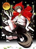 Red Riding Wolf by Color-LES