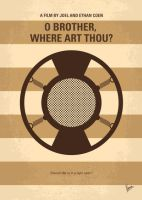 No055 My O Brother Where Art Thou minimal movie po by Chungkong