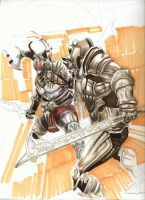 Infinity Blade by AIart