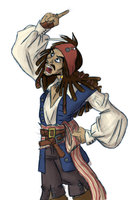 Im Jack effing Sparrow by spaztic-demon