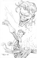 Invincible VS the Joker by RyanOttley