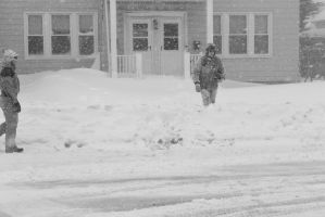 2015 January Blizzard,Snow Football Play Recovery3 by Miss-Tbones