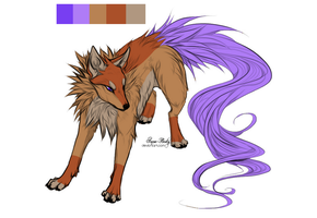 15 point canine adoptable OPEN by RedTrinitysAdopts