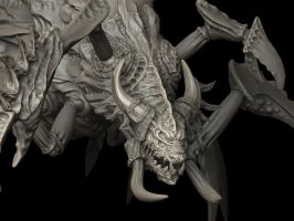 Leviathan model Zbrush by daelon