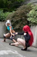 Ms. Fortune Vs. Parasoul Redux by Typical-Mental