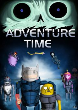 A Mass Effect Adventure Time by alexrockclimber