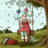 Hope on a Swing by King-Kakapo
