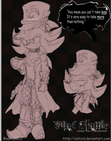 Shadow Mad Hattter- OLD by Achird