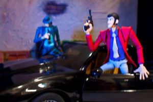 Lupin and K.I.T.T. by SalemCrow