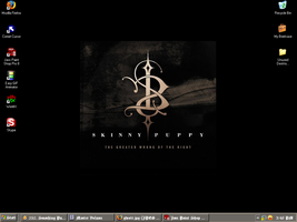 Skinny Puppy Desktop by ChateauOfSolitude