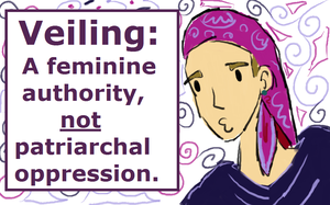Veiling: A Feminine Authority by PieWriter