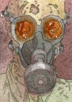 Gas Mask Zombie by DonMatthews