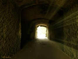 The Light At The End Of Tunnel by Estruda