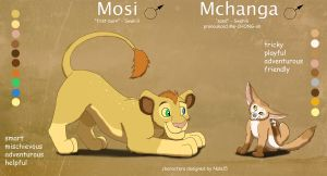 Mosi and Mchanga - Adoption Auction CLOSED by Nala15