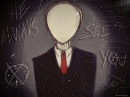 Slenderman by TheXHero
