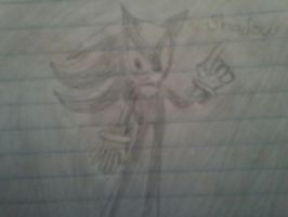 shadow the hedgehog by sonicthehedgehog1345