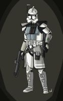 ARC trooper Ghost update by Smackadoodledoo