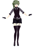 [MMD] Poker Face Gumi + DL by narukamii