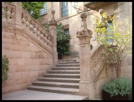 Barcelona: Stairway by Uttermost