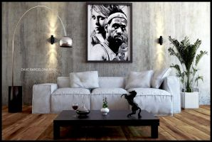 lebron's living room by davens07
