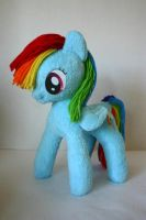 Rainbow Dash by DogerCraft