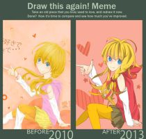 Draw it again Meme by Silverzzz