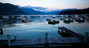 Annecy Paddle Boats by danielgregoire