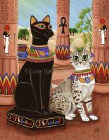 Temple of Bastet by tigerpixieart