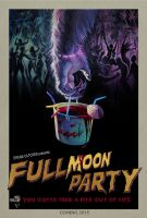 Full Moon Poster by zachco