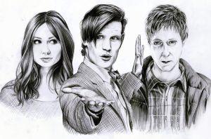 Doctor Who by Mizz-Depp