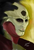 Thane Krios by madcoffee