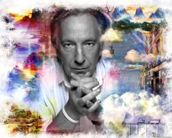 Alan Rickman - wallpaper 2 by transparentbird