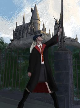 get it drawn - potter by Wolkenfels