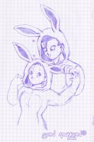 Bunnies Love XD by SonMarron