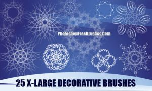 Decorative Patterns - PS Brush by fiftyfivepixels