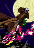 Rogue And Gambit By Leuname X31 by X-Bra