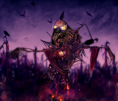 This is a Scarecrow by JonnyCupCake