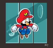 jump man mario time areas by JustinDurden