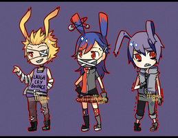Punky Rabbit Adopts [CLOSED] by Miehana