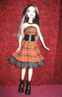 fashion doll Halloween dress by prettysewingmachine