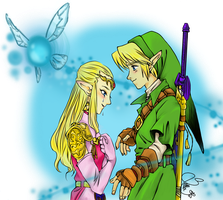 Huge - Ocarina of Time Manga Colored by TellitaMS