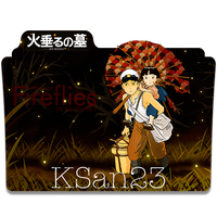 Grave of the Fireflies Icon by KSan23