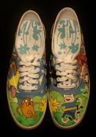 Adventure Time Shoes 1 by Simonbagel