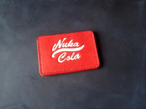 New Fallout Nuka-Cola leather cardwallet by Arnakhat
