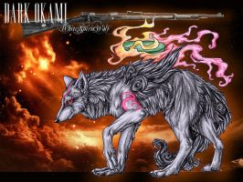 :DARK OKAMI: new version 2.0 by WhiteSpiritWolf