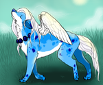 Neopets Art Trade by shattered-bones