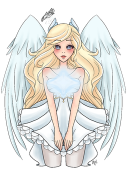 Sweet Angel by Madame-Lemon
