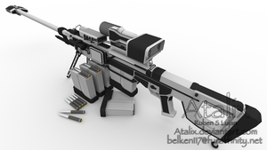R-71 Uranium Rifle 2 by Atalix