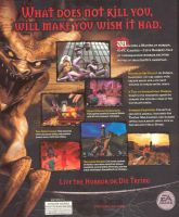 Clive Barker's Undying Back Cover by derrickthebarbaric
