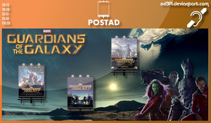 PostAd - 2014 - Guardians Of The Galaxy by od3f1
